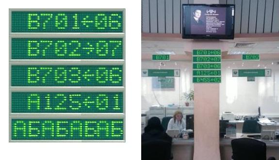 Светодиодное главное  информационное табло